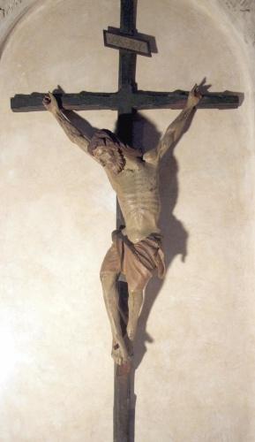 Giovanni Pisano, Crocifisso (1300 circa) Pieve di Sant'Andrea (Pistoia)