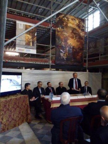 Diocesi pistoia al via il restauro della chiesa di san leone for Chiesa di san leone pistoia