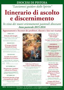 itinerario di discernimento