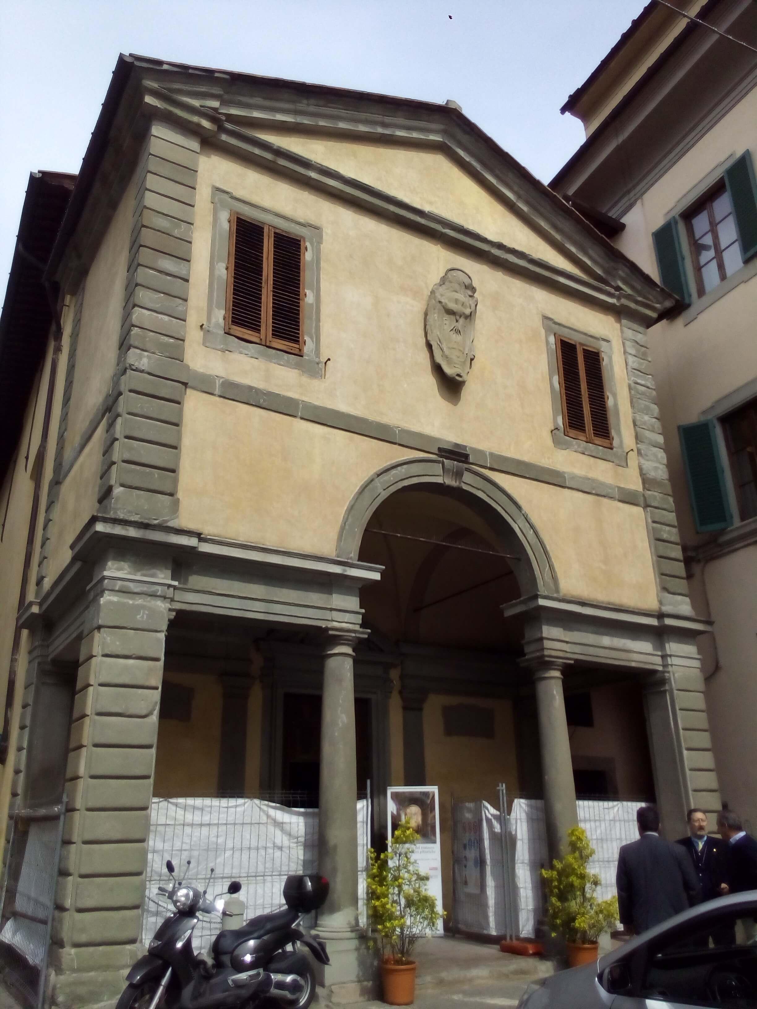 Al via il restauro della chiesa di san leone diocesi pistoia for Chiesa di san leone pistoia