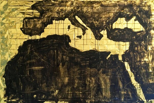 Giovanni De Gara, Eldorato, mediterraneo, 210x160 cm, 2018